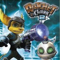 Portada oficial de Ratchet & Clank 2 PSN para PS3