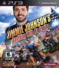 Portada oficial de Jimmie Johnson's Anything With An Engine para PS3