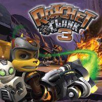 Portada oficial de Ratchet & Clank 3 PSN para PS3