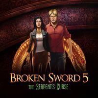 Portada oficial de Broken Sword 5: La maldición de la serpiente: Episodio 2 PSN para PSVITA