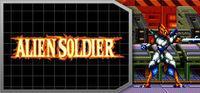 Portada oficial de Alien Soldier para PC