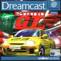 Portada oficial de Sega GT para Dreamcast