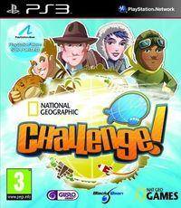 Portada oficial de National Geographic Challenge! para PS3