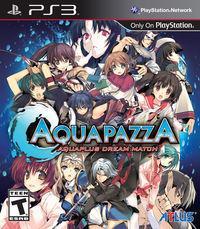 Portada oficial de AquaPazza: AquaPlus Dream Match para PS3