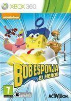 Portada oficial de de Bob Esponja. El héroe para Xbox 360