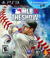 Portada oficial de MLB 11: The Show para PS3