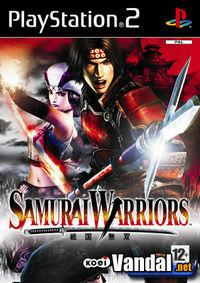 Portada oficial de Samurai Warriors para PS2