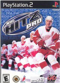 Portada oficial de NHL Hitz Pro para PS2