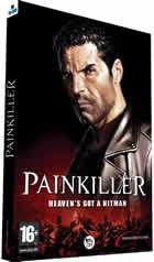 Portada oficial de de Painkiller para PC