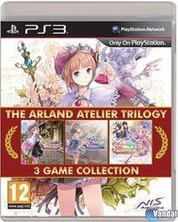 Portada oficial de The Arland Atelier Trilogy para PS3
