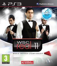 Portada oficial de WSC Real 11: World Snooker Championship para PS3
