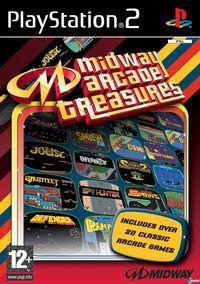 Portada oficial de Midway Arcade Treasures para PS2