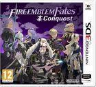 Portada oficial de de Fire Emblem Fates: Conquista para Nintendo 3DS