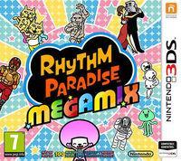 Portada oficial de Rhythm Paradise Megamix para Nintendo 3DS