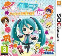 Portada oficial de Hatsune Miku: Project Mirai DX para Nintendo 3DS