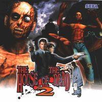Portada oficial de House of the Dead 2 para Dreamcast