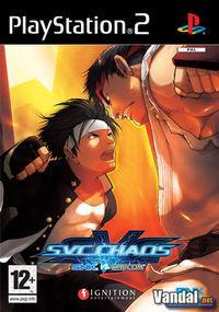 Portada oficial de SNK vs Capcom: SVC Chaos para PS2