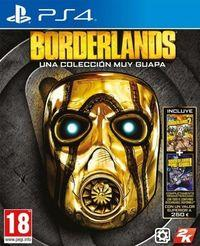 Portada oficial de Borderlands: Una colección muy guapa para PS4