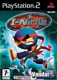 Portada oficial de I-Ninja para PS2