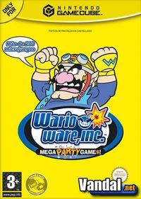 Portada oficial de Wario Ware, Inc.: Mega Party Game$ para GameCube