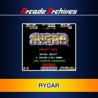 Portada oficial de Arcade Archives Rygar para PS3
