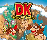 Portada oficial de Donkey Kong: King of Swing CV para Wii U