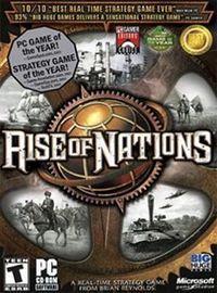 Portada oficial de Rise of Nations para PC