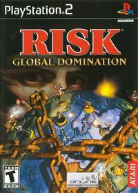 Portada oficial de Risk: Global Domination para PS2