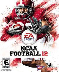 Portada oficial de NCAA Football 12 para PS3