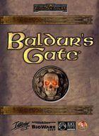 Portada oficial de de Baldur's Gate para PC