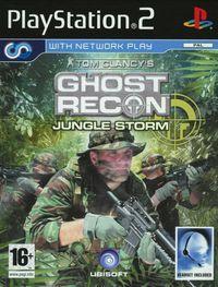 Portada oficial de Tom Clancy's Ghost Recon: Jungle Storm para PS2