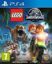 Portada oficial de LEGO Jurassic World para PS4