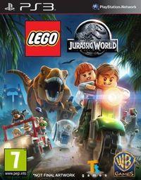 Portada oficial de LEGO Jurassic World para PS3