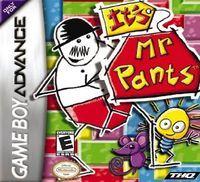 Portada oficial de It's Mr. Pants para Game Boy Advance