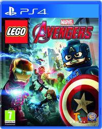 Portada oficial de LEGO Marvel Vengadores para PS4