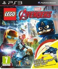 Portada oficial de LEGO Marvel Vengadores para PS3