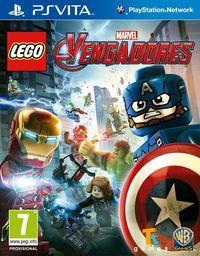 Portada oficial de LEGO Marvel Vengadores para PSVITA