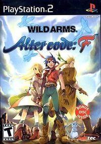 Portada oficial de Wild Arms 4 - Alter Code: F para PS2