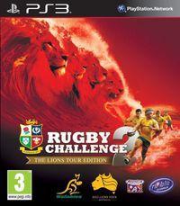 Portada oficial de Rugby Challenge 2 para PS3