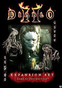 Portada oficial de Diablo II: Lord of Destruction para PC