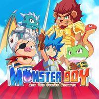Portada oficial de Monster Boy and the Cursed Kingdom para PS4