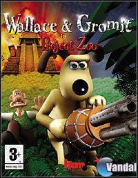 Portada oficial de Wallace & Gromit: in Project Zoo para PS2