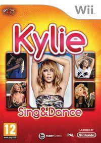Portada oficial de Kylie: Sing & Dance para Wii