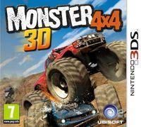 Portada oficial de Monster 4x4 3D para Nintendo 3DS