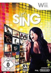 Portada oficial de Let's Sing para Wii