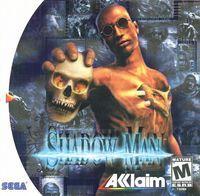 Portada oficial de ShadowMan para Dreamcast