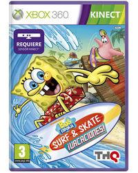 Portada oficial de Bob Esponja Surf & Skate ¡Vacaciones! para Xbox 360