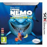 Portada oficial de Finding Nemo: Escape to the Big Blue para Nintendo 3DS