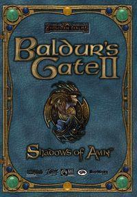 Portada oficial de Baldur's Gate II: Shadows of Amn para PC