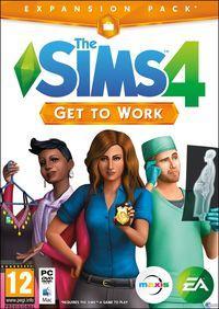 Portada oficial de Los Sims 4: ¡A Trabajar! para PC